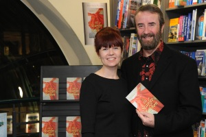 Writing duo, Katy O'Dowd and Michael O'Dowd