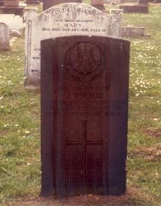 John Rimmer's grave