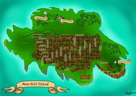 Moss Hill Island