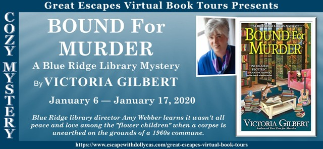 BOUND FOR MURDER BANNER 6401