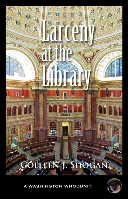 LARCENY AT THE LIBRARY_Front Cover